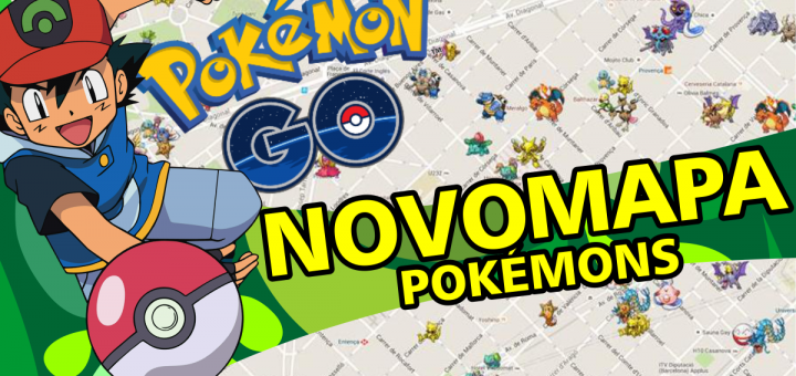 Novo Mapa no Pokemon Go