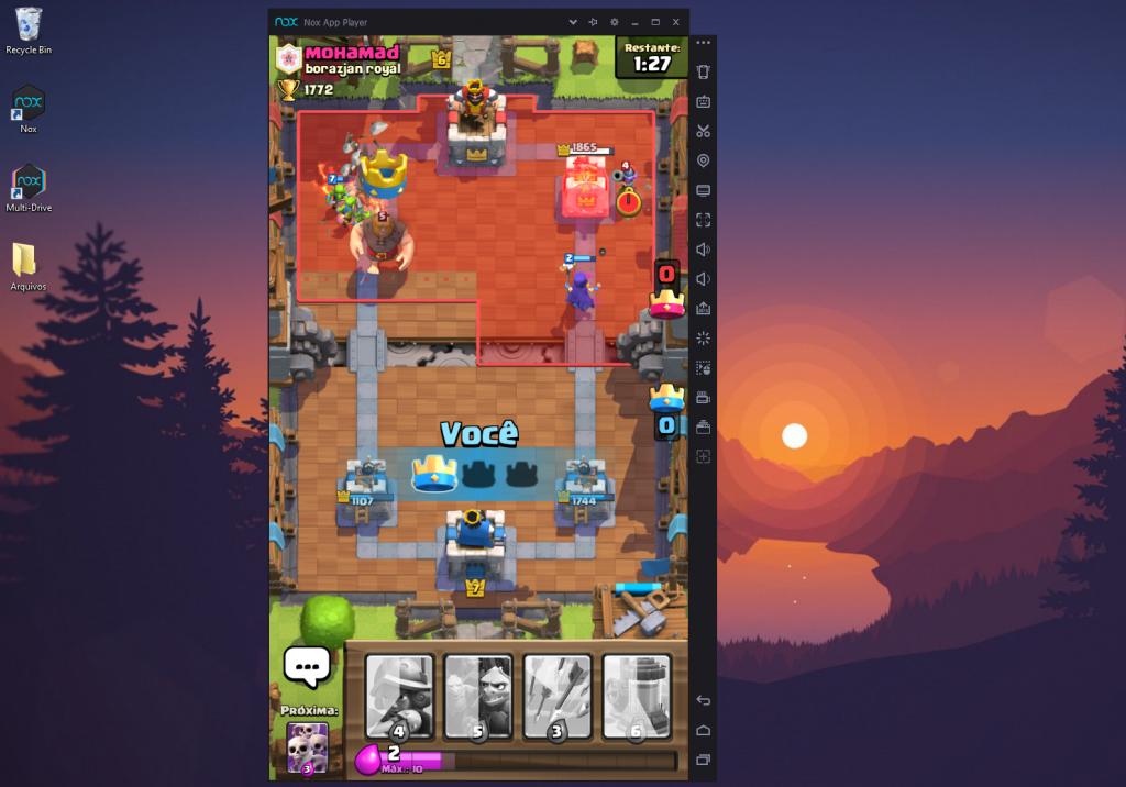 Jogar Clash Royale do Computador