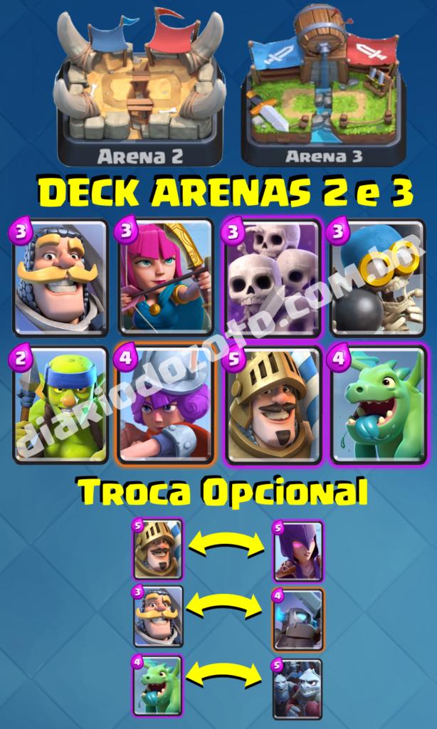 Deck Especial Arena 2 e 3