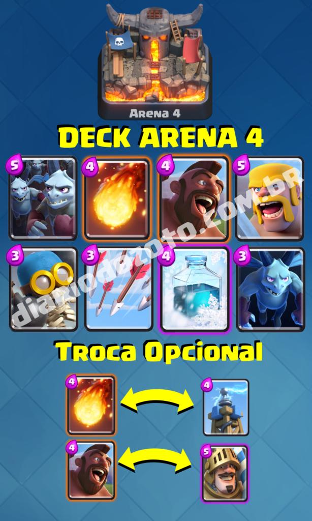 Deck Especial Arena 4