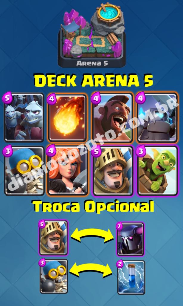 Deck Especial Arena 5