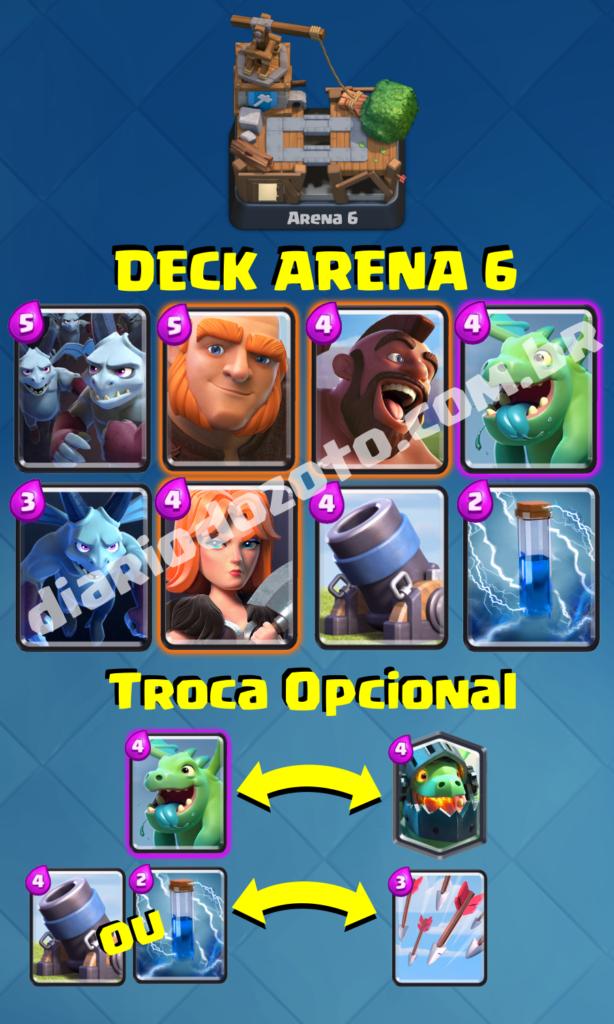 Deck Especial Arena 6