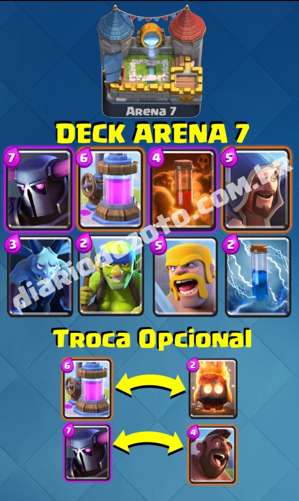 Deck Especial Arena 7