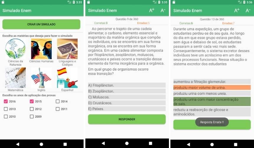 Os melhores apps para o ENEM