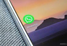Um close do ícone do aplicativo WhatsApp em um smartphone.