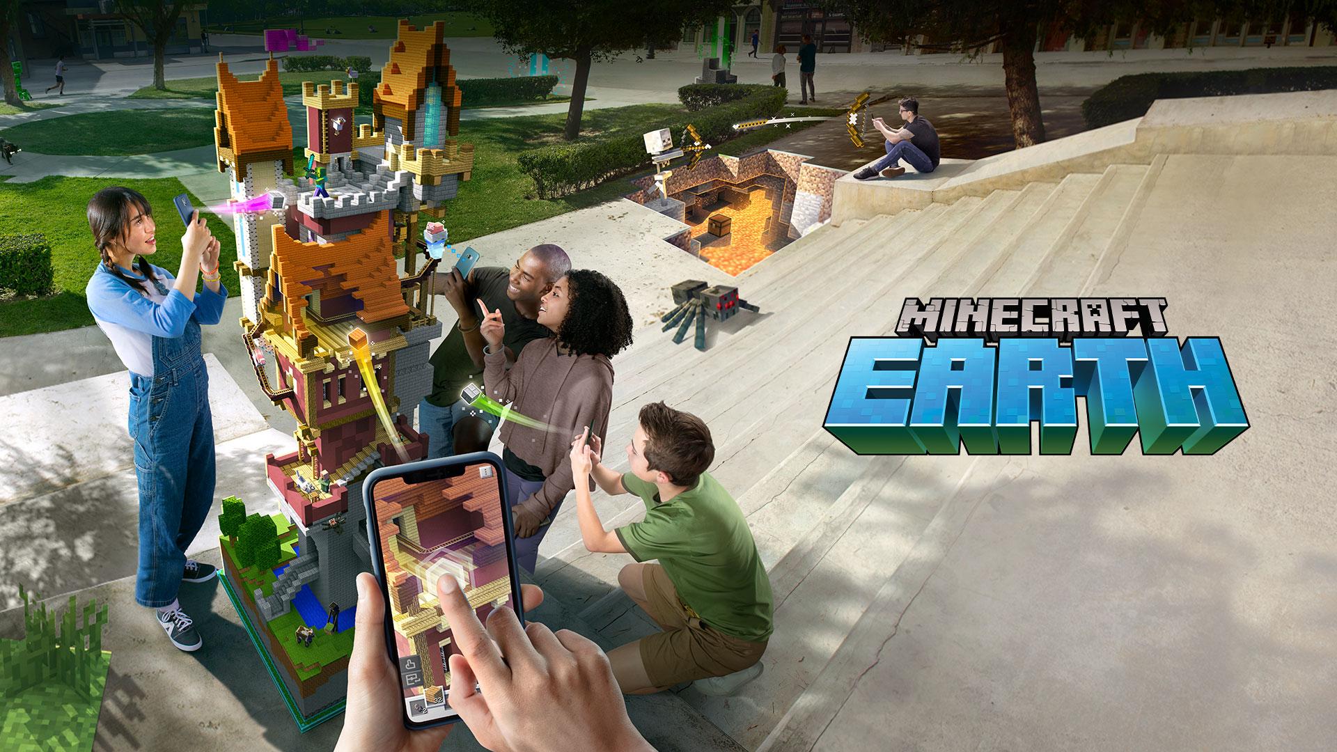 Pré registro do Minecraft Earth