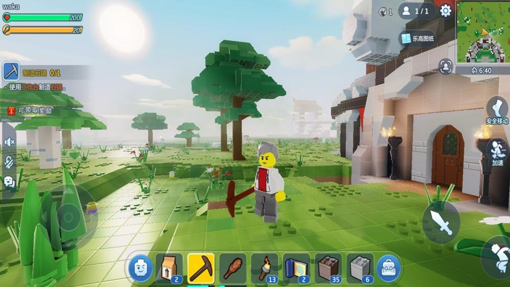 Estilo Minecraft