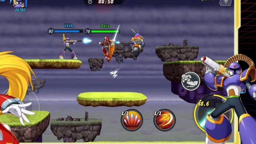 trailer do Mega Man X Dive