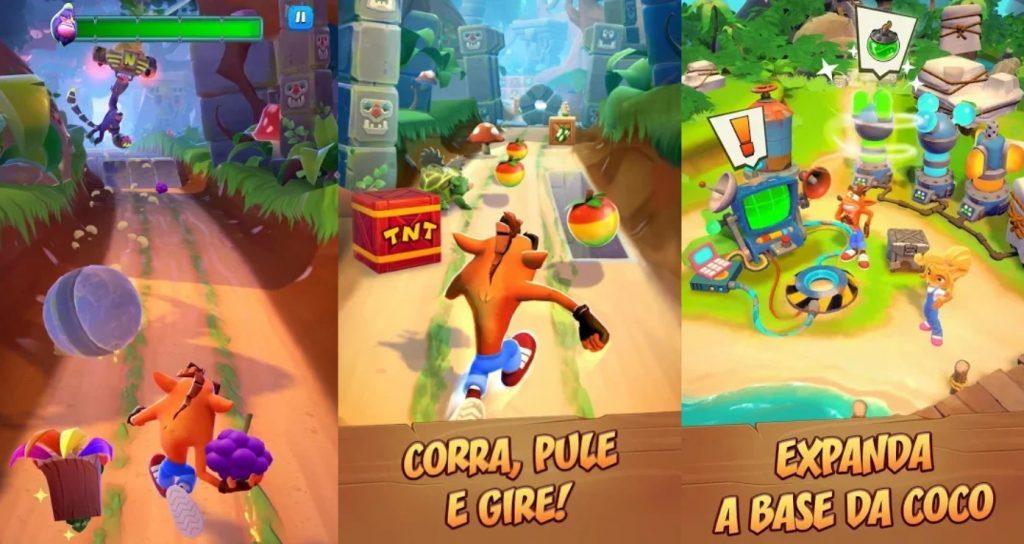 Crash Bandicoot On the Run virá grátis para Android e iOS